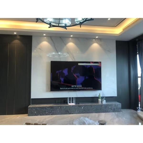 翡翠半岛138.0平米三居美式客厅装修效果图